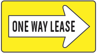 One Way Lease Logo